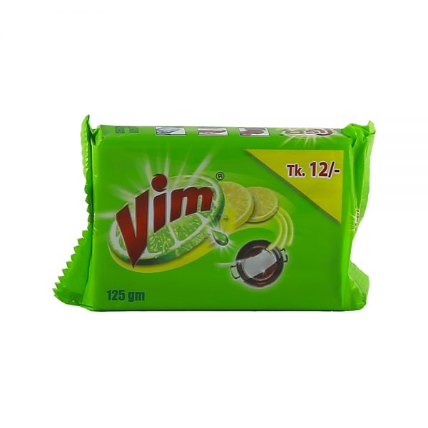 Vim Dish Wash Bar 125 gm
