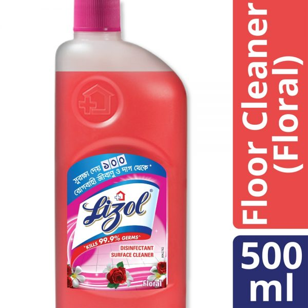 Lizol Floor Cleaner 500 ml Floral