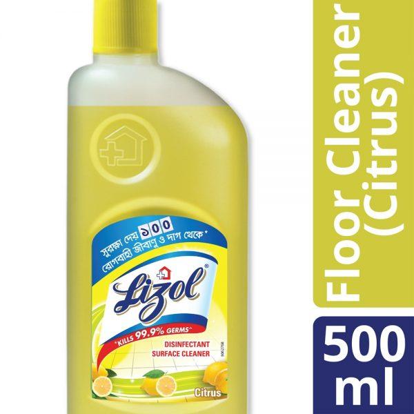 Lizol Floor Cleaner 500 ml Citrus