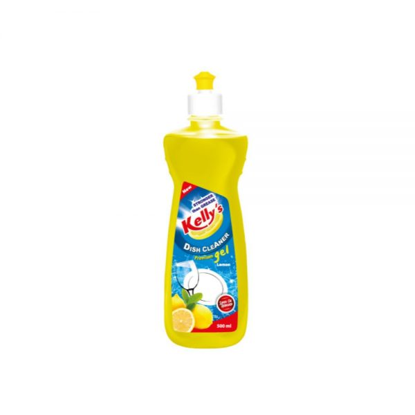 Kellys Dish Cleaner P.Gel 500ml (Lemon)