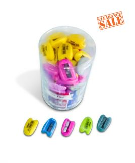 Sharpener, Single Hole, Assorted Color, Tip Top, ...