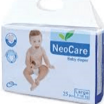 NEO CARE LARGE BABY DIAPER 7-18 KG 25PCS