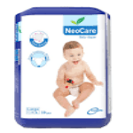 NEO CARE LARGE BABY DIAPER 7-18 KG 10PCS
