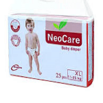NEO CARE XL BABY DIAPER 11-25 KG 25PCS