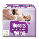 Huggies Wonder pants S 42s(4-8kg)