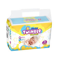 Savlon Twinkle Baby Diaper (Small/Up to 8kg/30pcs)