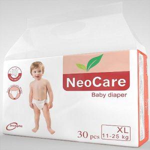 NeoCare Xl Baby Diaper (11-25kg/25pcs)