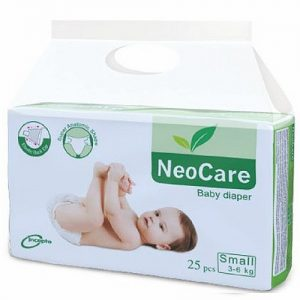 NeoCare Small Baby Diaper (3-6kg/25pcs)