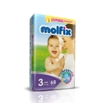 MOLFIX JUMBO ECO 3 MIDI 4-9KG 68PCS