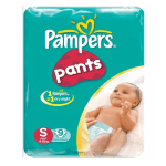 Pampers Baby Dry Pants (S/4-8kg/20 Pcs)