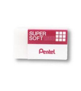 Pentel Super Soft Eraser ZESE-03ID, Small